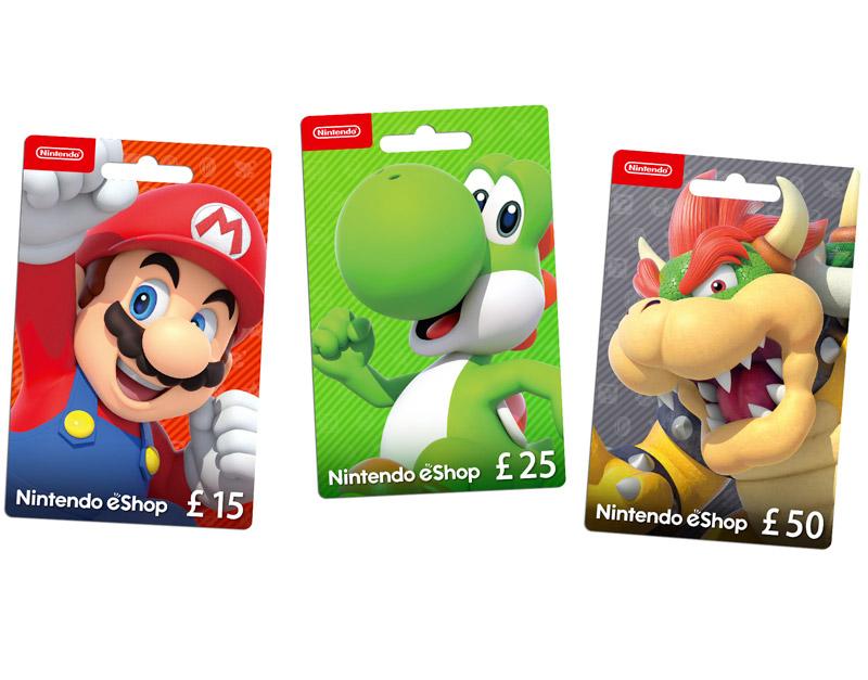 Nintendo eShop Gift Card, The Gamers Fate, thegamersfate.com