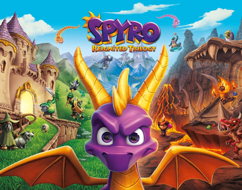 Spyro Reignited Trilogy (Xbox One), The Gamers Fate, thegamersfate.com