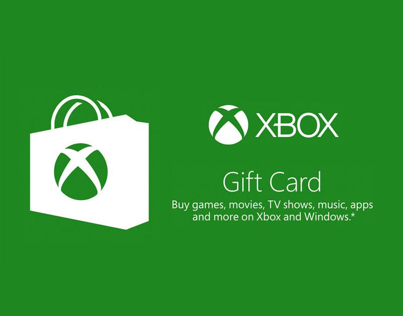 Xbox Live Gift Card, The Gamers Fate, thegamersfate.com